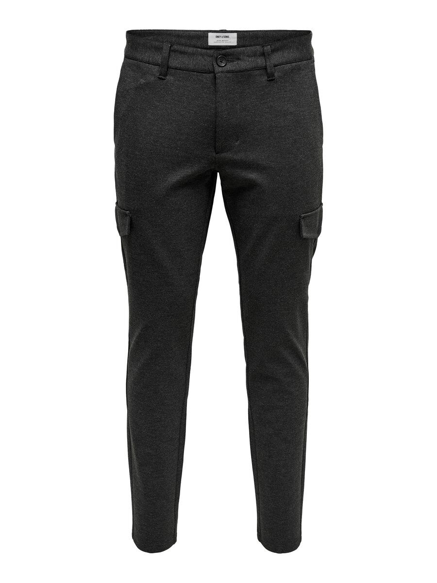 SLIM FITTED CARGOPANTS