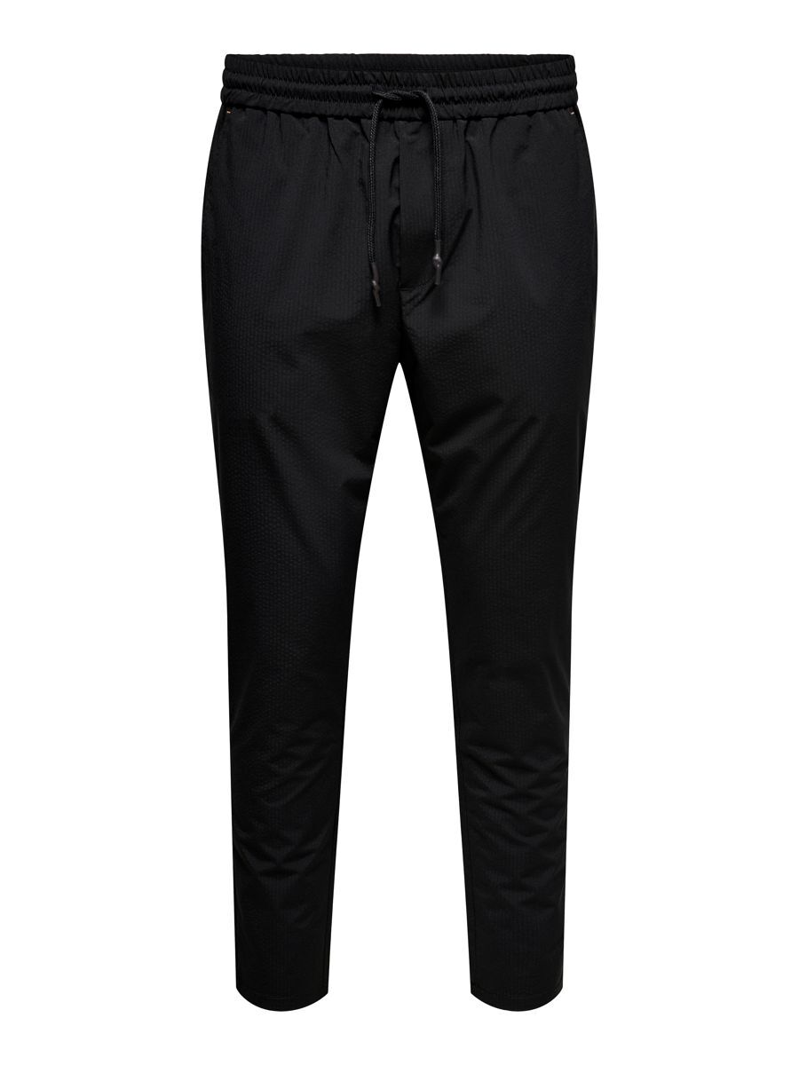 CROPPED SPORTY CHINOS