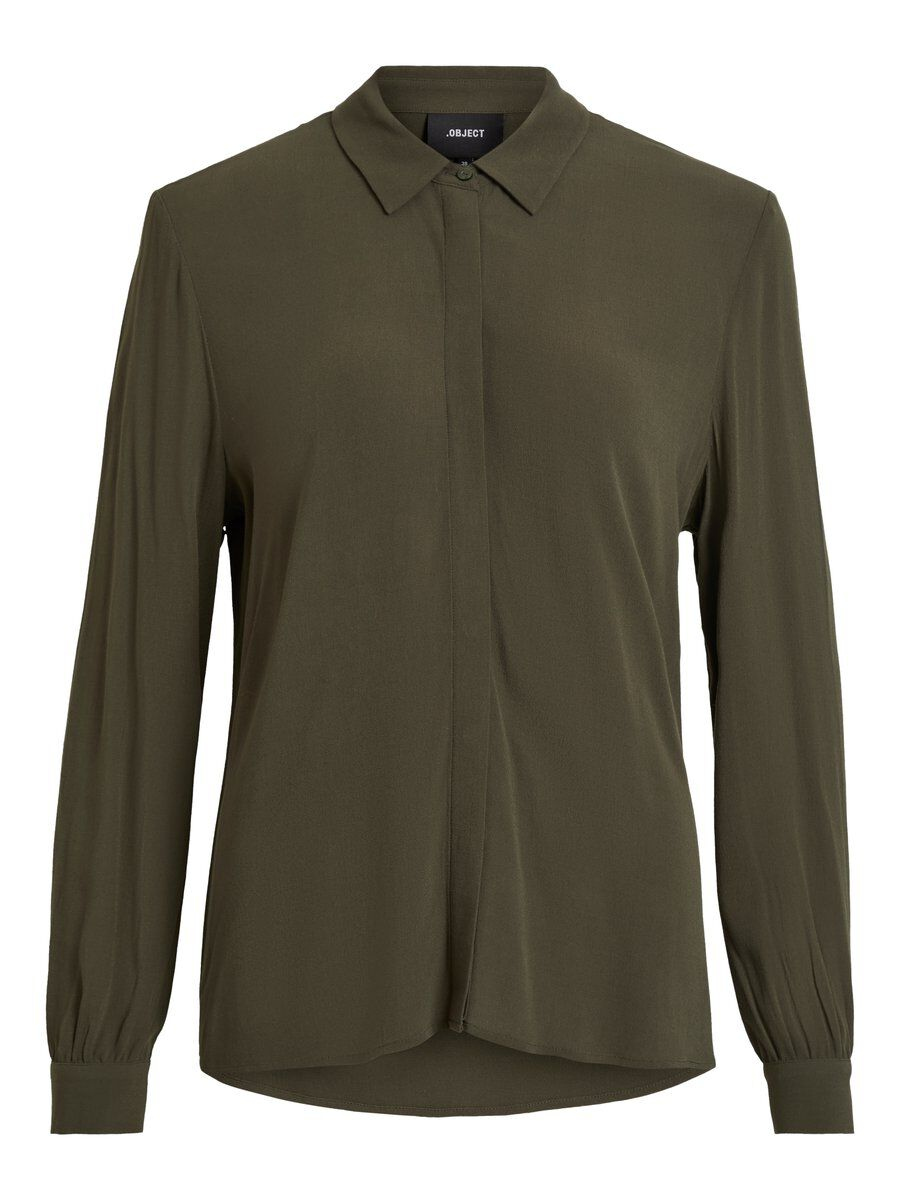 OBJECT COLLECTORS ITEM Coupe Ample Chemise Women green