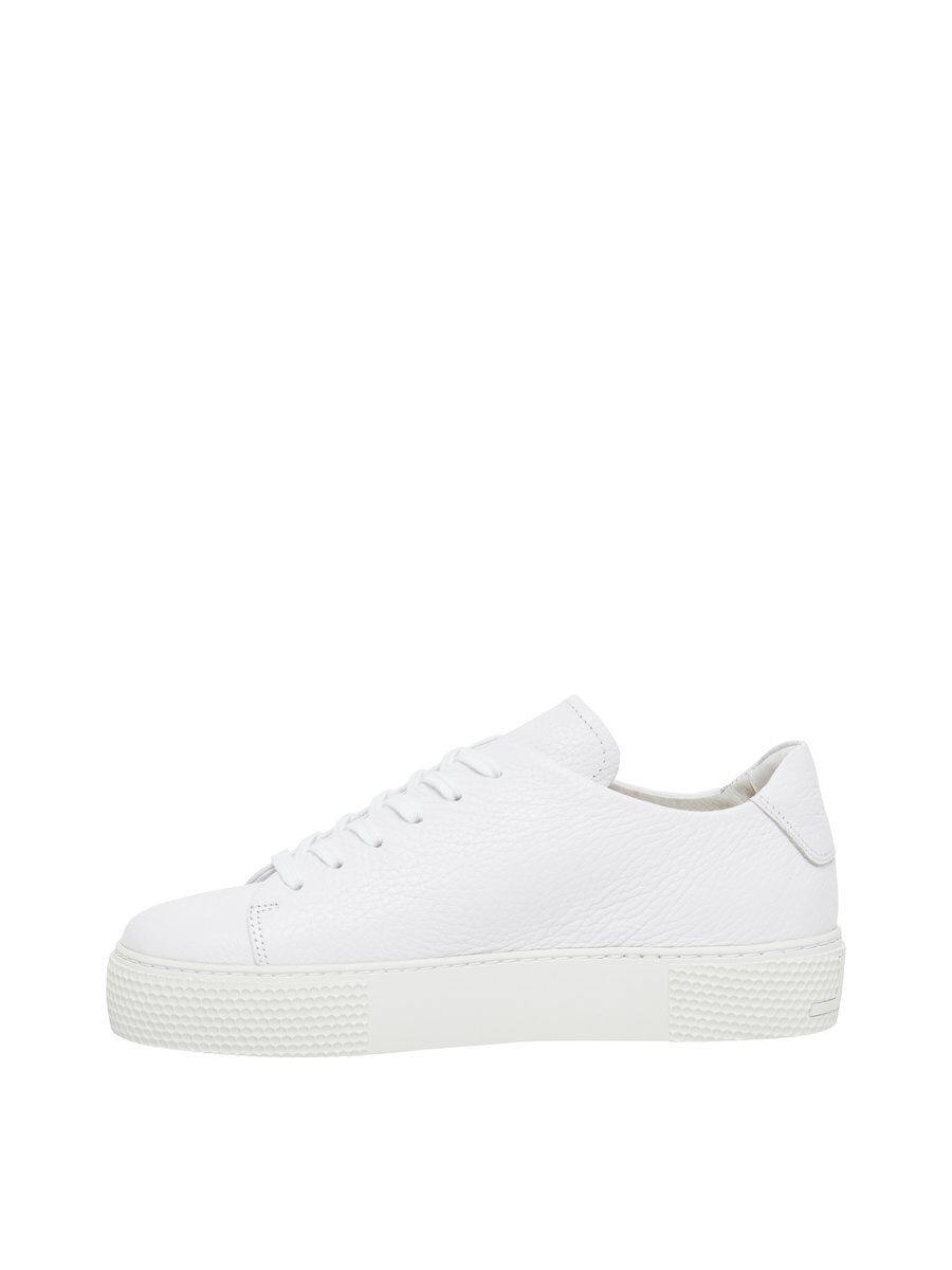J.LINDEBERG Low Lace Leather Sneakers Women White
