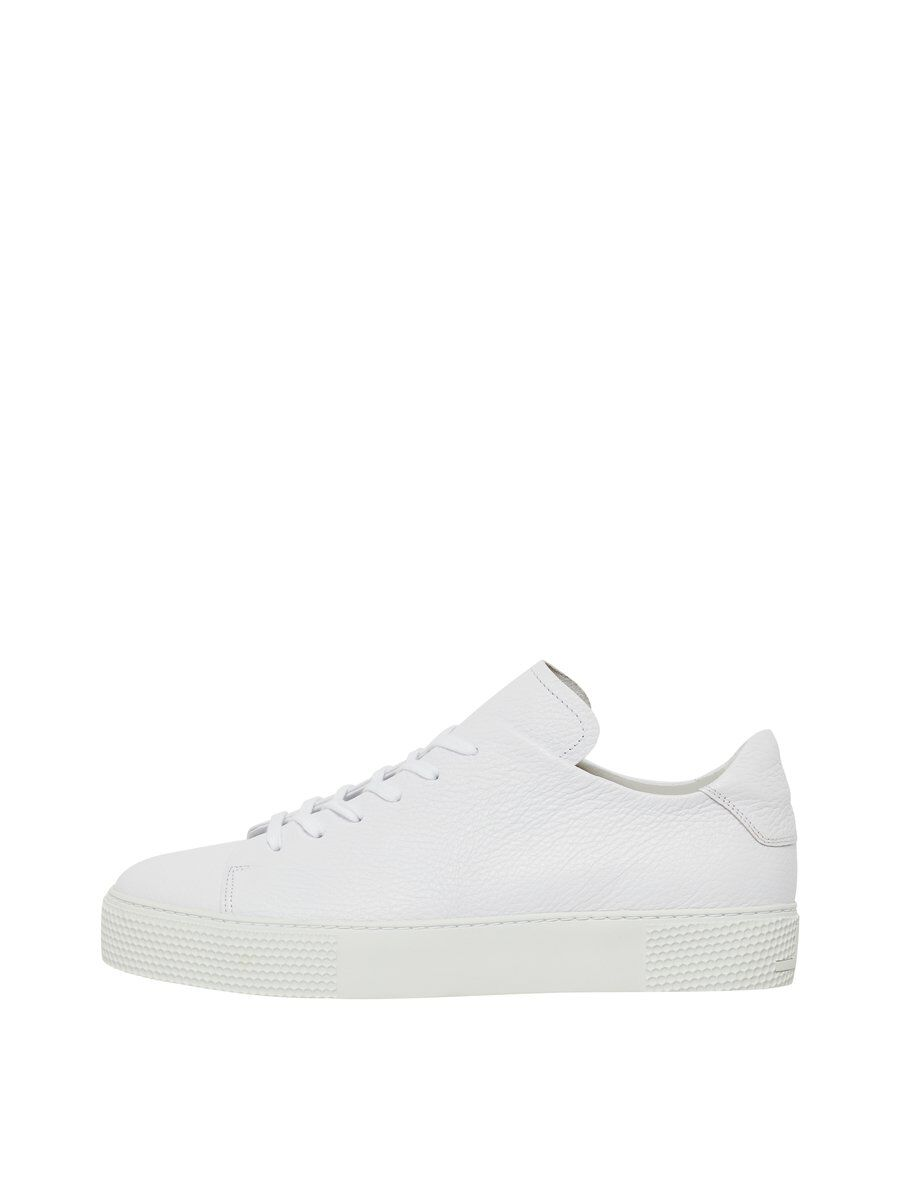 J.LINDEBERG Low Top Leather Sneakers Men White