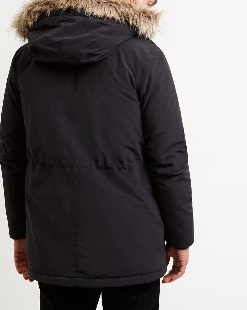 Lyle-and-Scott-Mens-Winterweight-Microfleece-Lined-Parka thumbnail 19