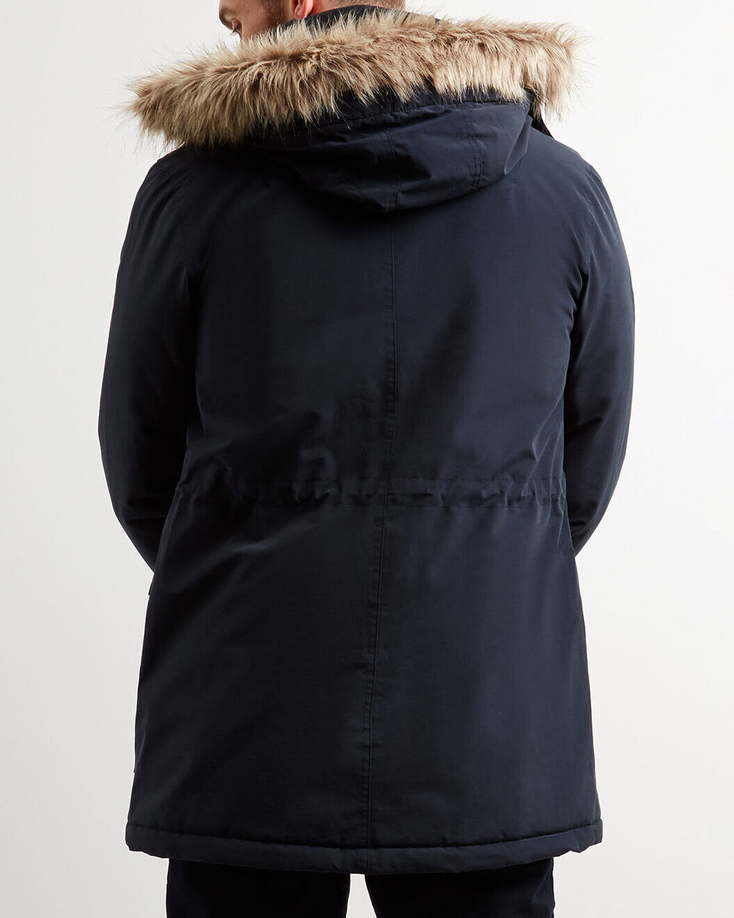 Lyle-and-Scott-Mens-Winterweight-Microfleece-Lined-Parka thumbnail 7