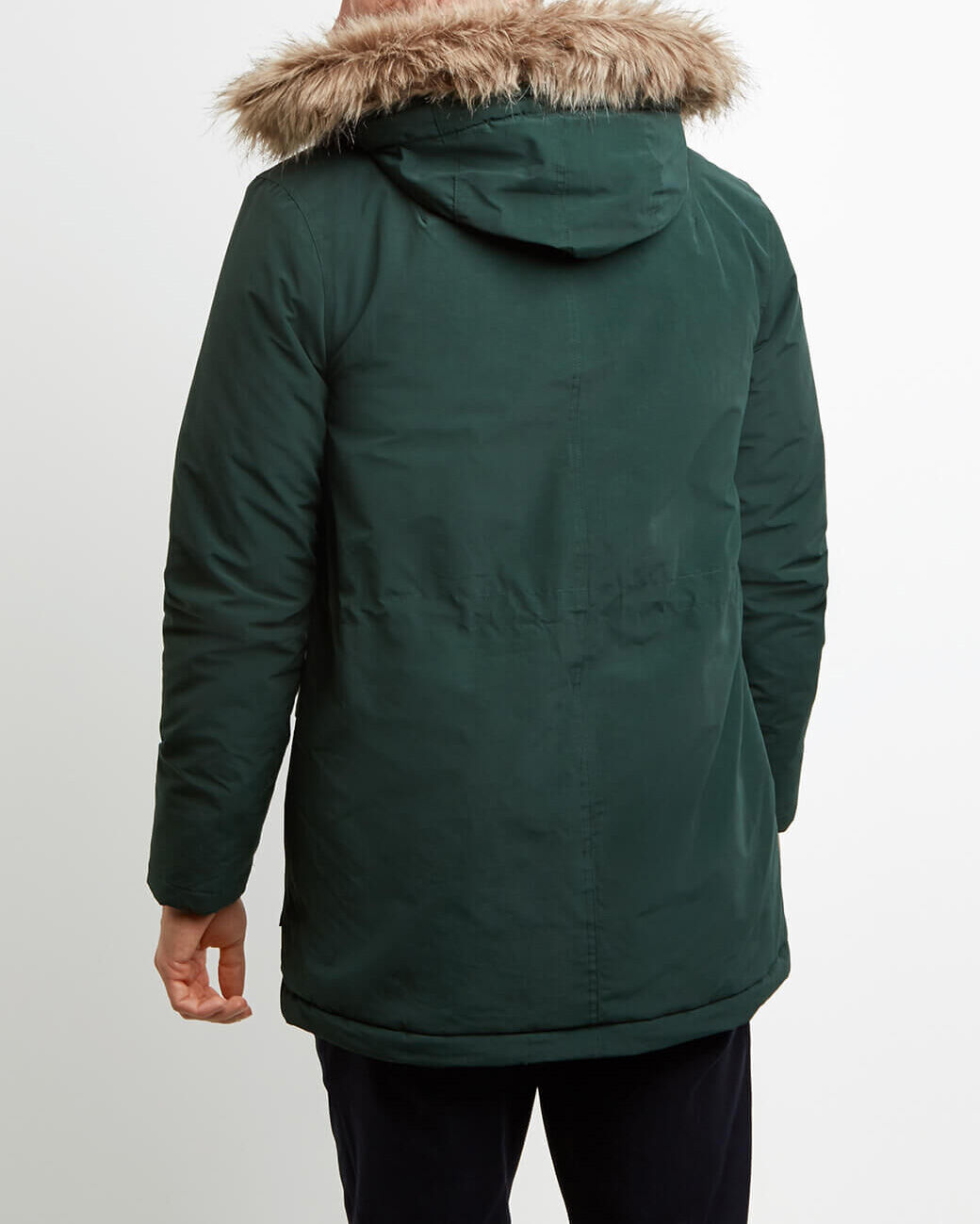 Lyle-and-Scott-Mens-Winterweight-Microfleece-Lined-Parka thumbnail 11