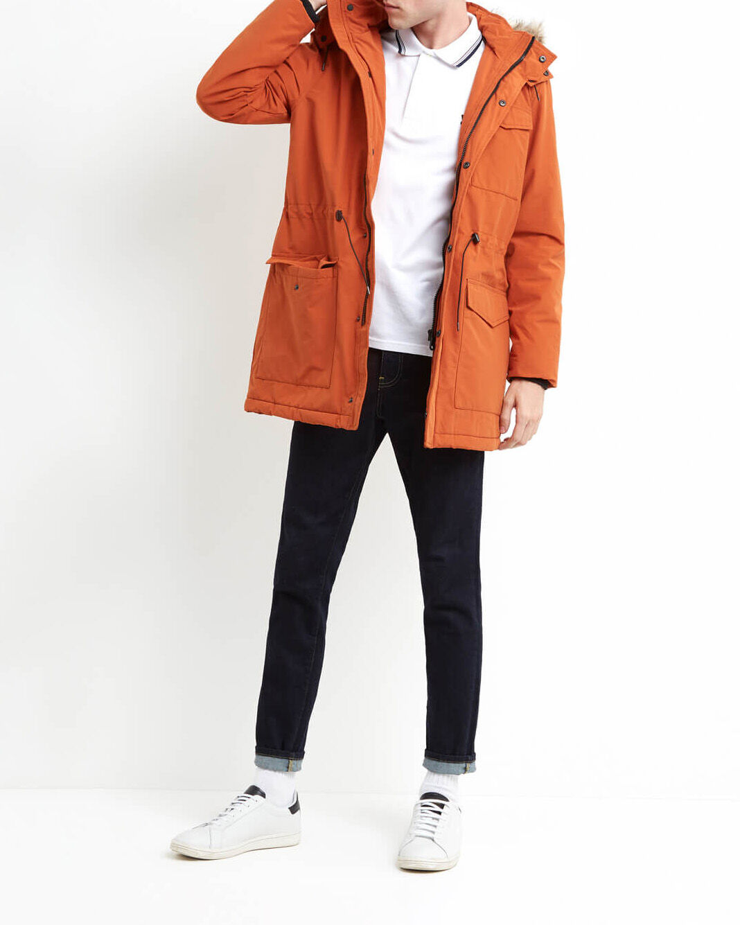 Lyle-and-Scott-Mens-Winterweight-Microfleece-Lined-Parka thumbnail 14