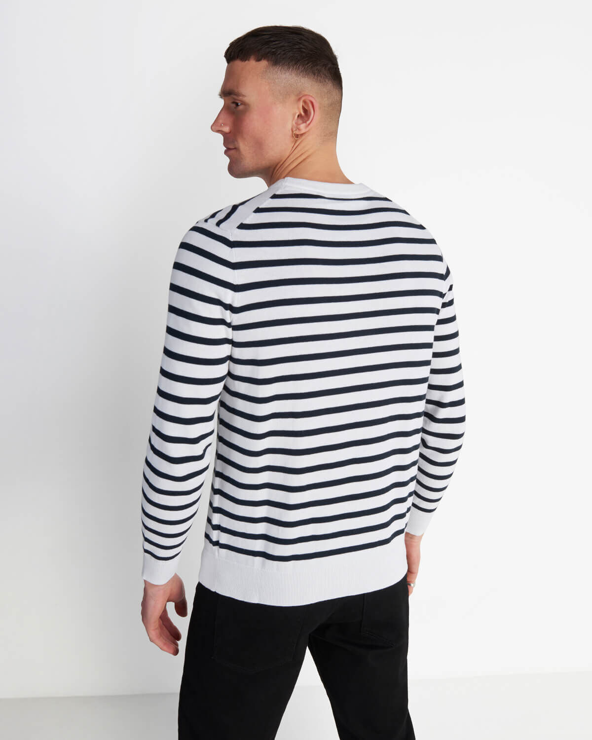 Lyle-and-Scott-Men-Breton-Stripe-Jumper-Cotton thumbnail 18