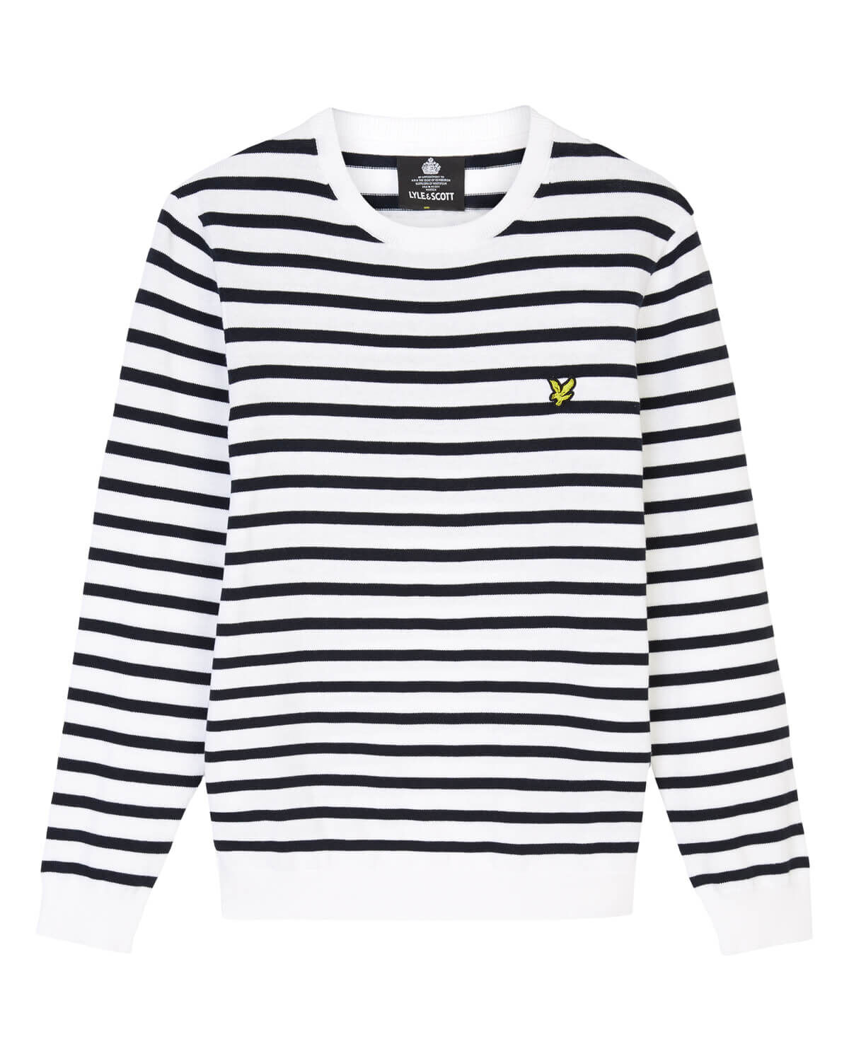 Lyle-and-Scott-Men-Breton-Stripe-Jumper-Cotton thumbnail 20