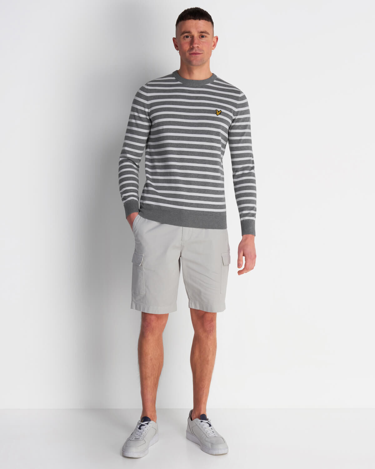 Lyle-and-Scott-Men-Breton-Stripe-Jumper-Cotton thumbnail 12