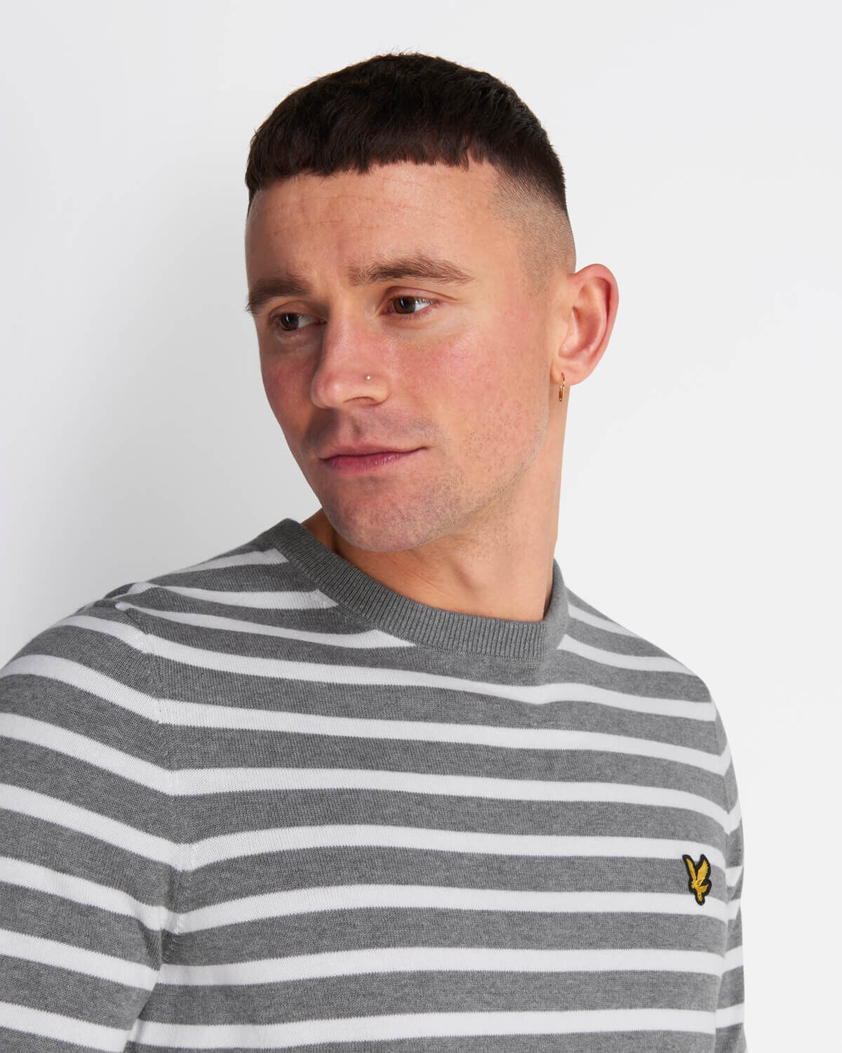 Lyle-and-Scott-Men-Breton-Stripe-Jumper-Cotton thumbnail 14