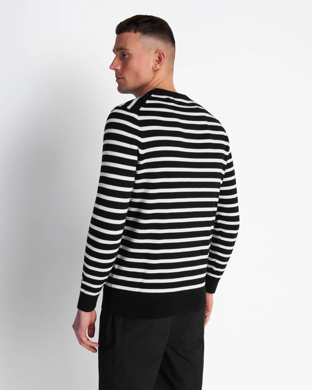 Lyle-and-Scott-Men-Breton-Stripe-Jumper-Cotton thumbnail 8
