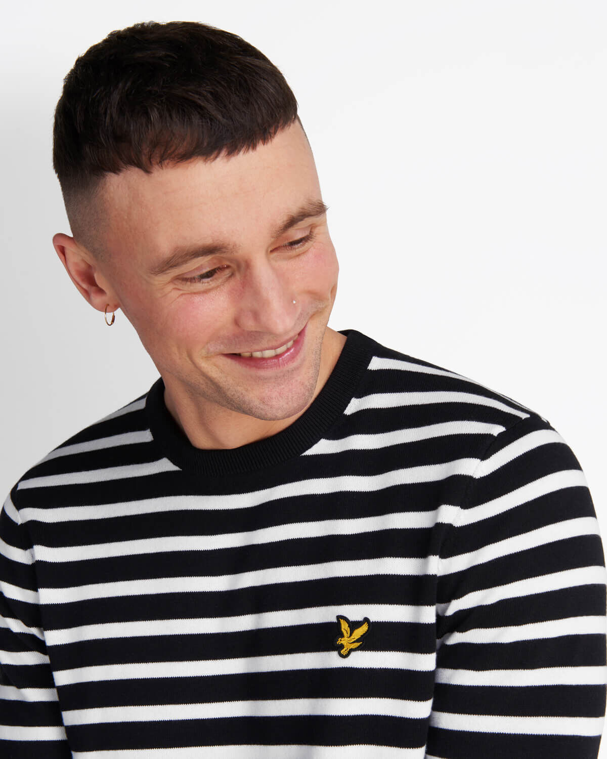 Lyle-and-Scott-Men-Breton-Stripe-Jumper-Cotton thumbnail 9