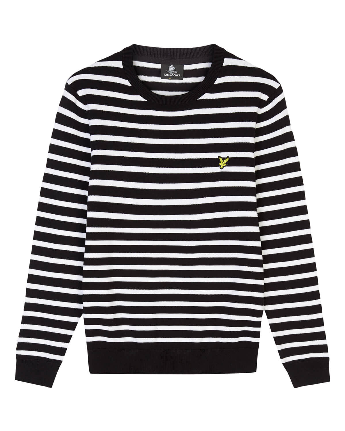 Lyle-and-Scott-Men-Breton-Stripe-Jumper-Cotton thumbnail 10