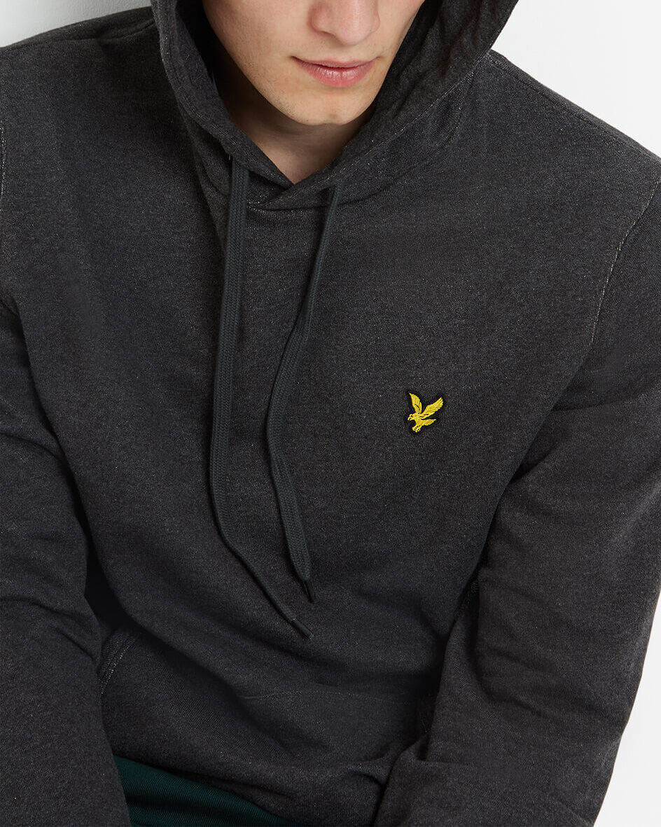 Lyle-and-Scott-Mens-Pullover-Hoodie-Cotton thumbnail 16