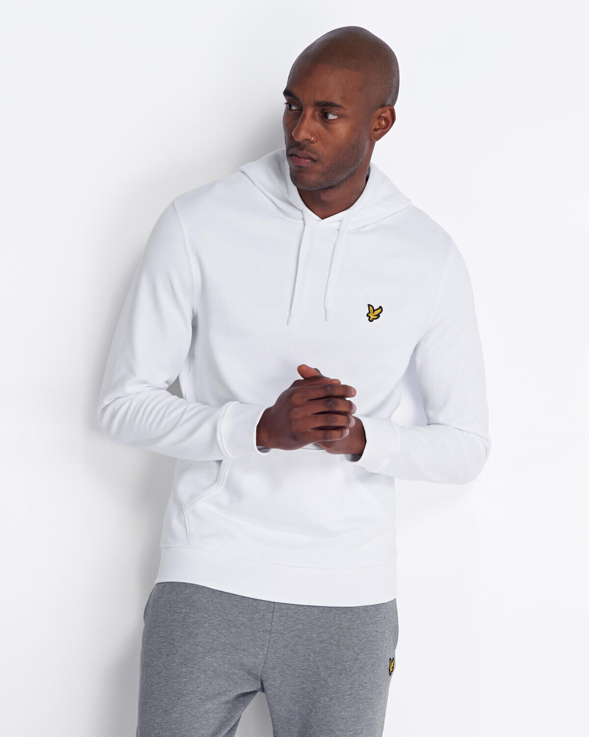 Lyle-and-Scott-Mens-Pullover-Hoodie-Cotton thumbnail 57