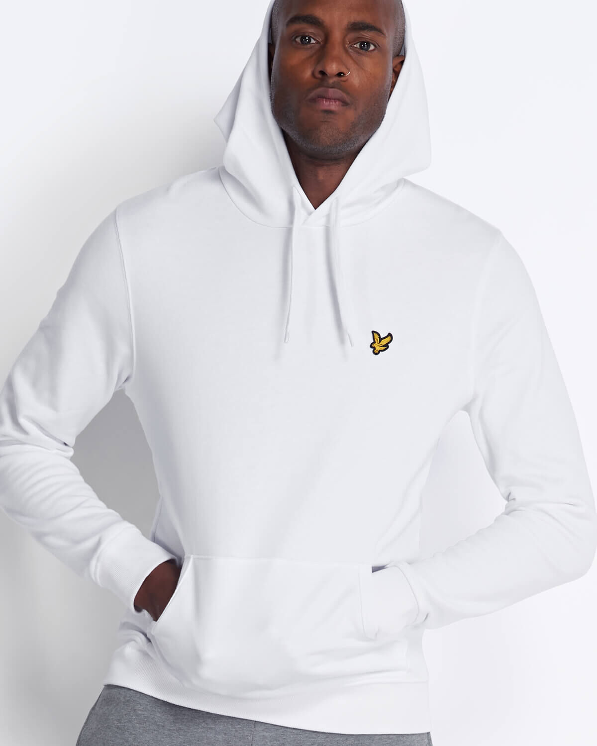 Lyle-and-Scott-Mens-Pullover-Hoodie-Cotton thumbnail 56