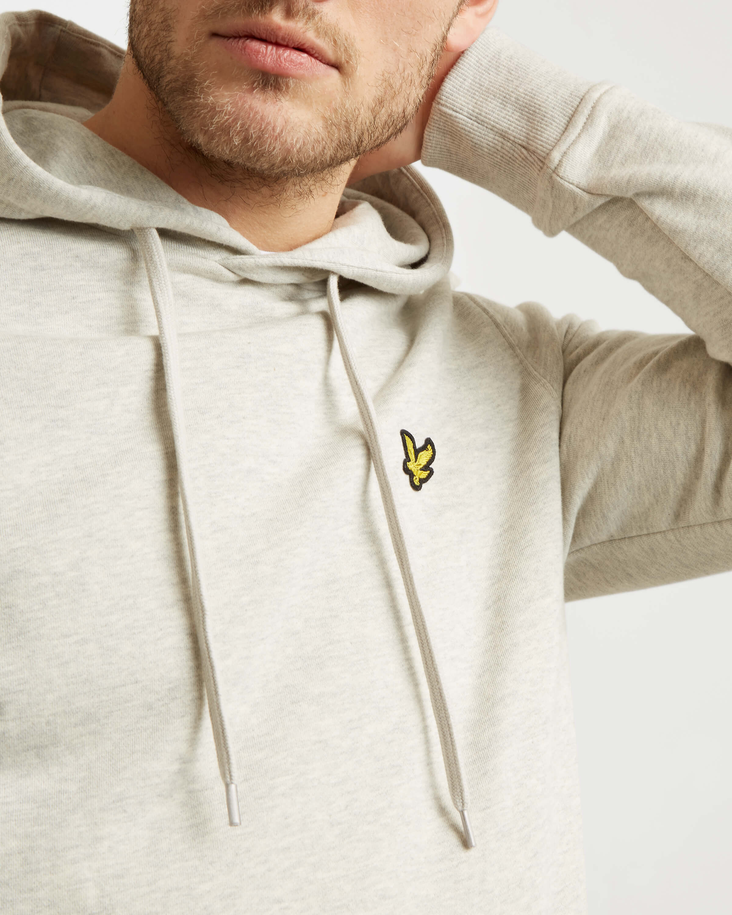 Lyle-and-Scott-Mens-Pullover-Hoodie-Cotton thumbnail 28