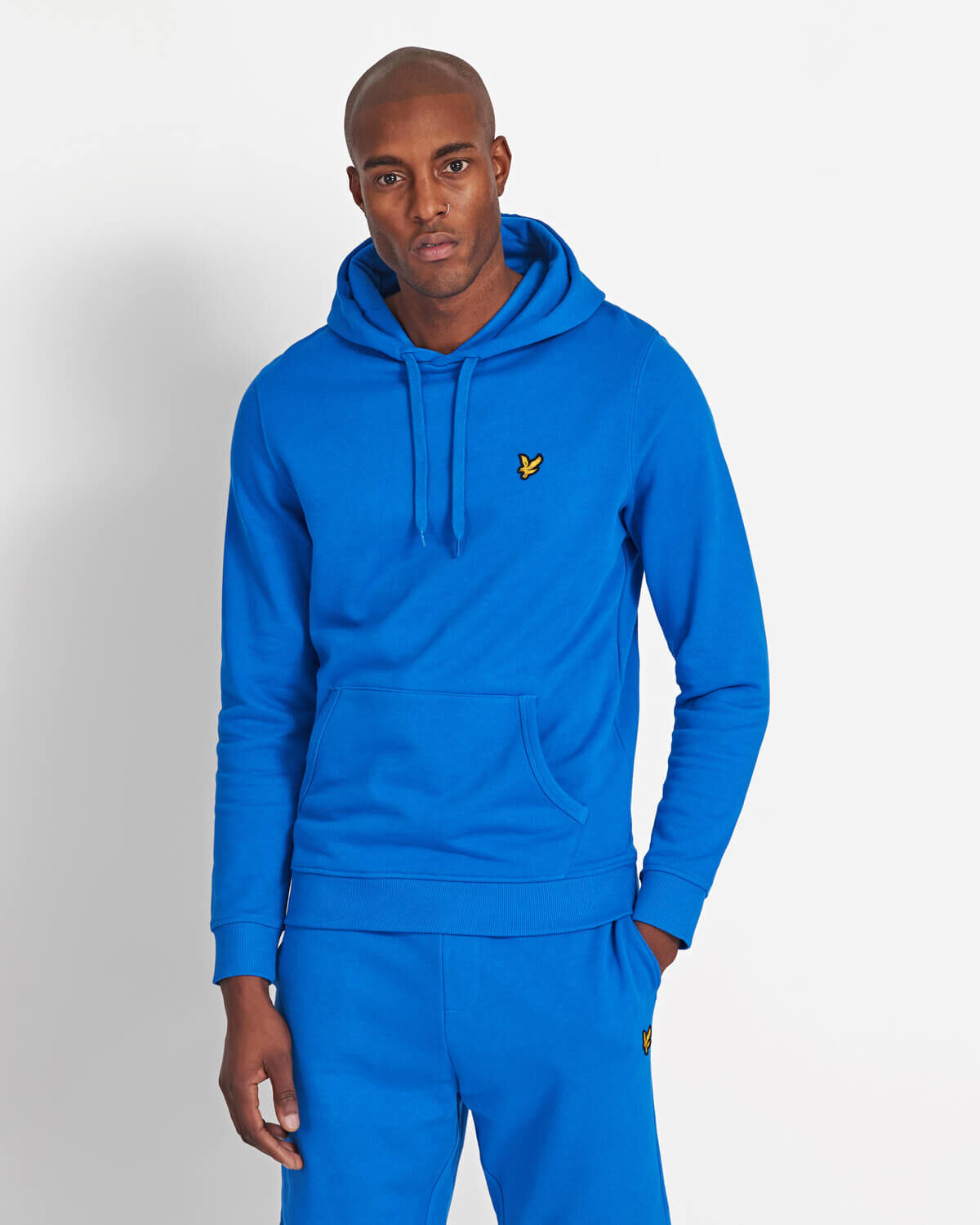 Lyle-and-Scott-Mens-Pullover-Hoodie-Cotton thumbnail 5