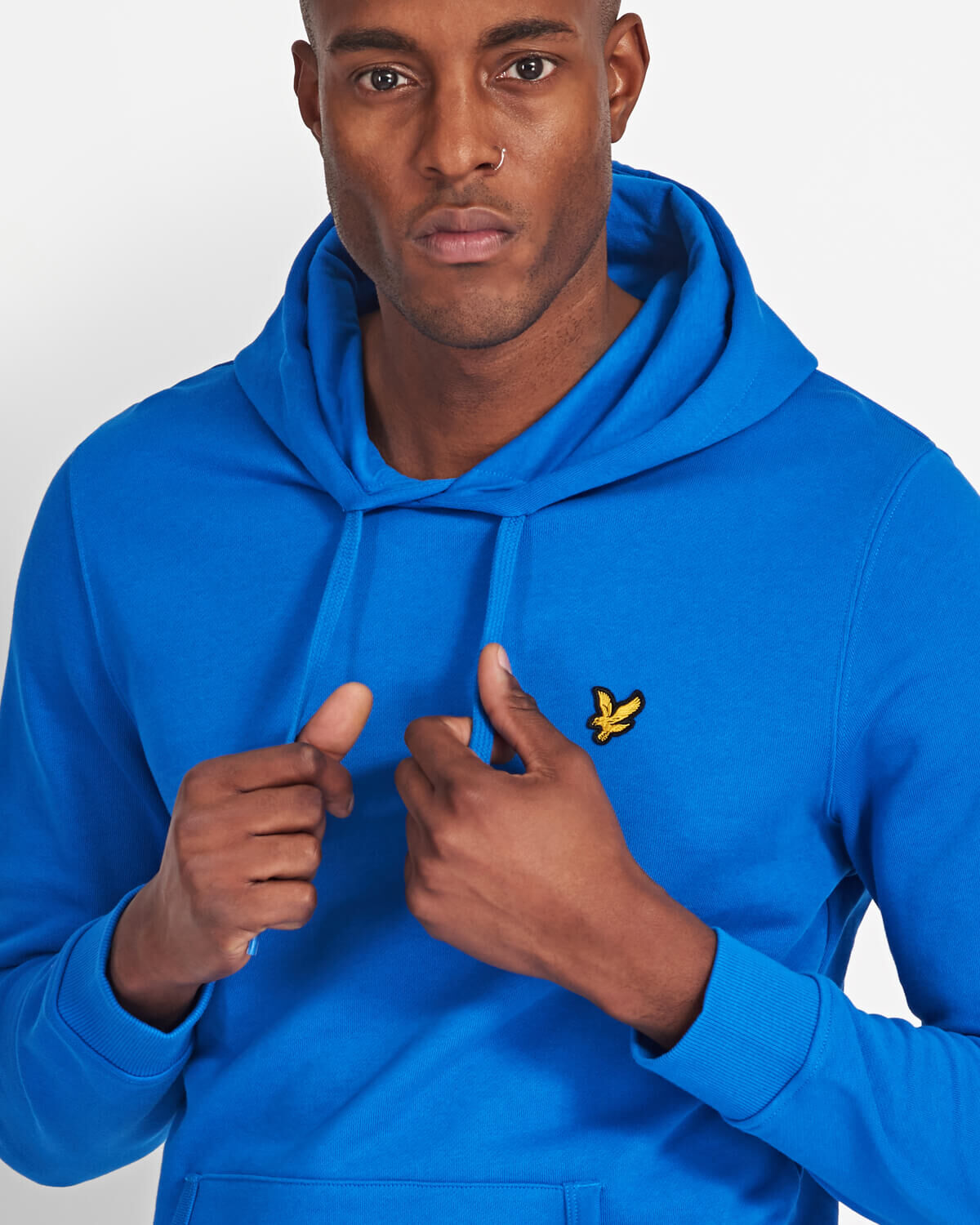 Lyle-and-Scott-Mens-Pullover-Hoodie-Cotton thumbnail 8