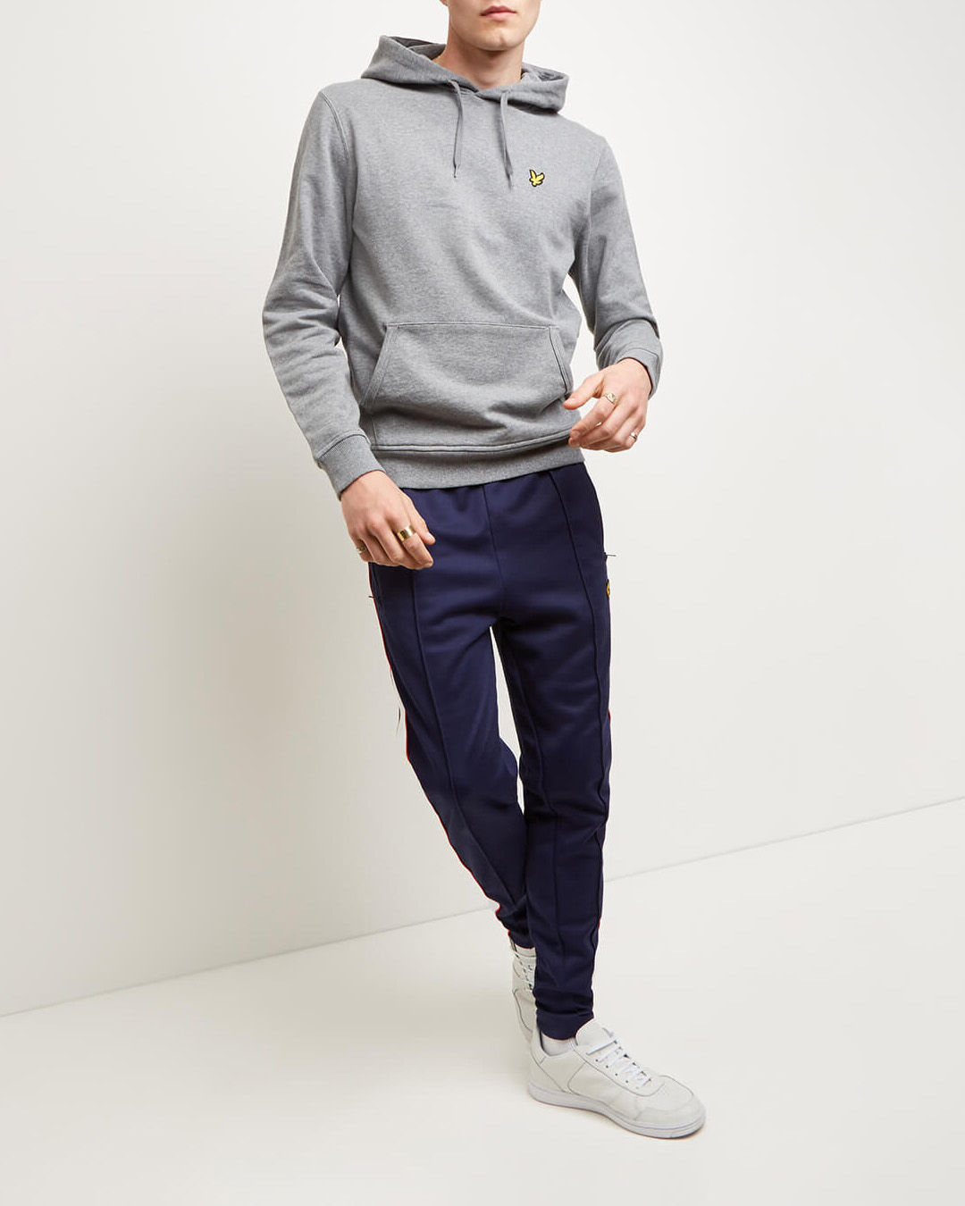 Lyle-and-Scott-Mens-Pullover-Hoodie-Cotton thumbnail 34