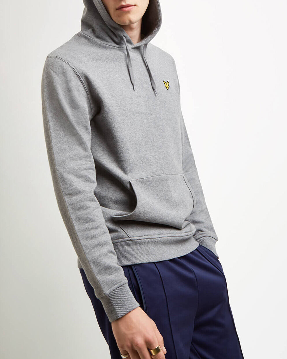 Lyle-and-Scott-Mens-Pullover-Hoodie-Cotton thumbnail 36