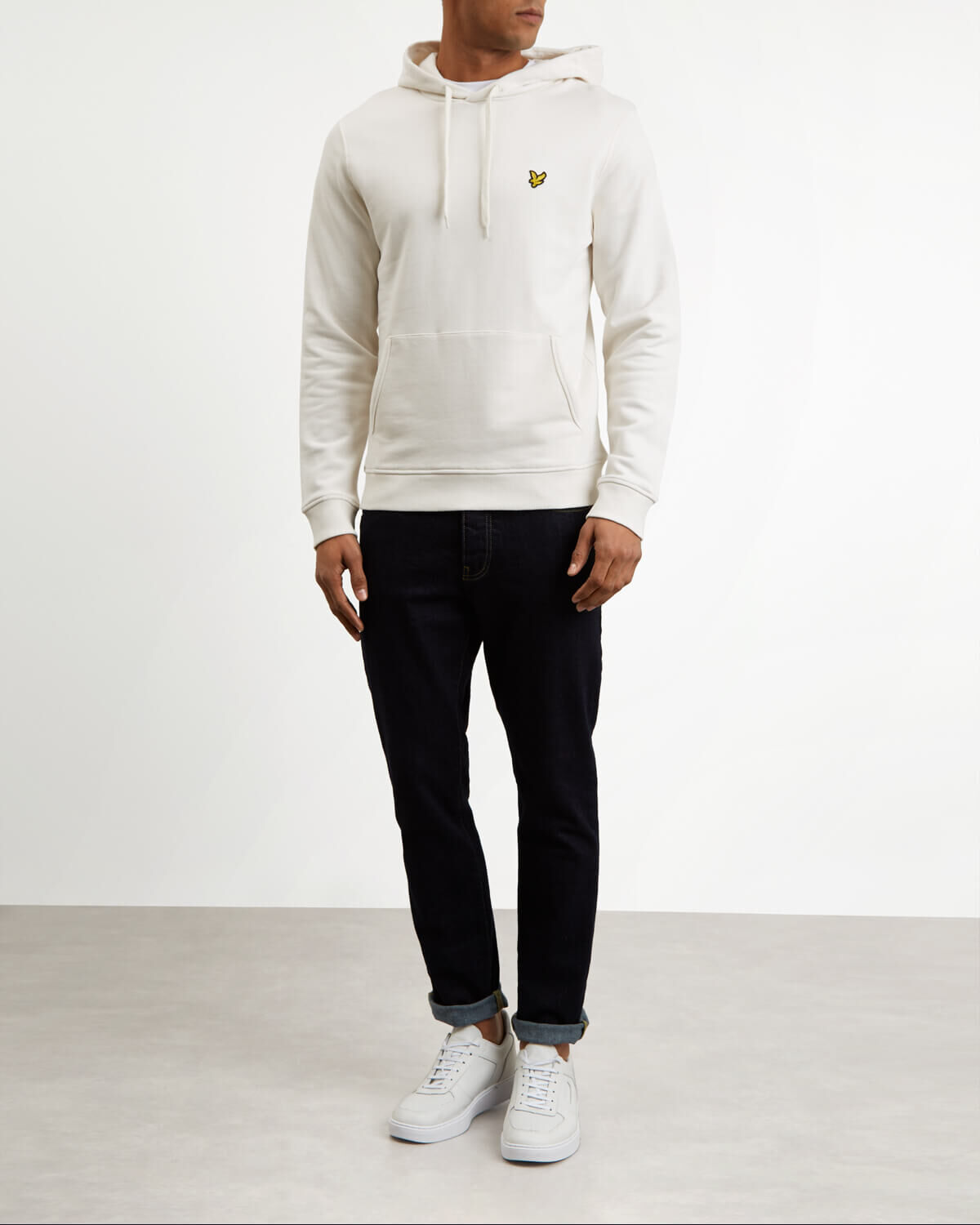 Lyle-and-Scott-Mens-Pullover-Hoodie-Cotton thumbnail 50