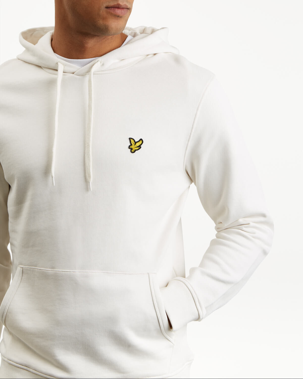 Lyle-and-Scott-Mens-Pullover-Hoodie-Cotton thumbnail 48
