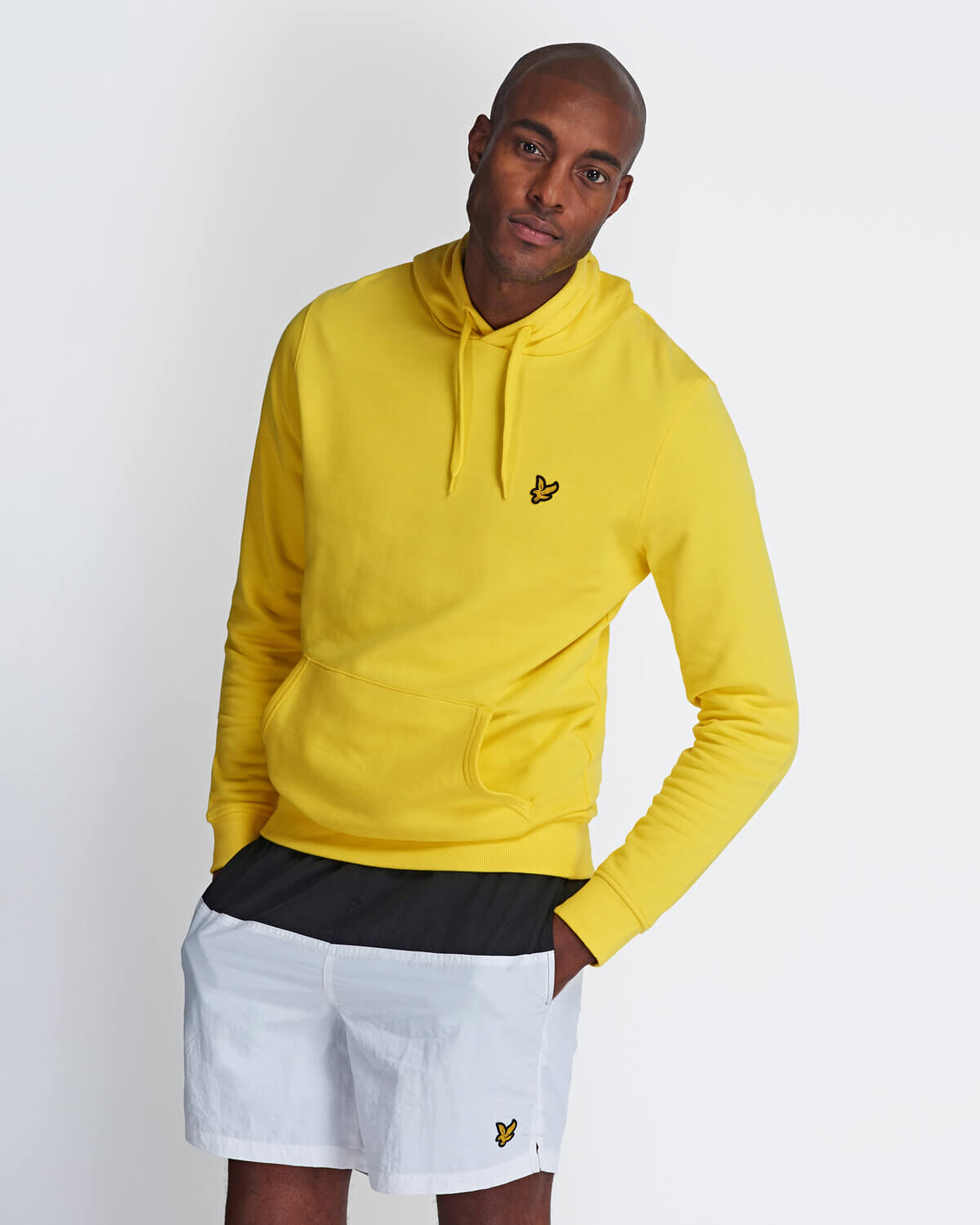 Lyle-and-Scott-Mens-Pullover-Hoodie-Cotton thumbnail 9
