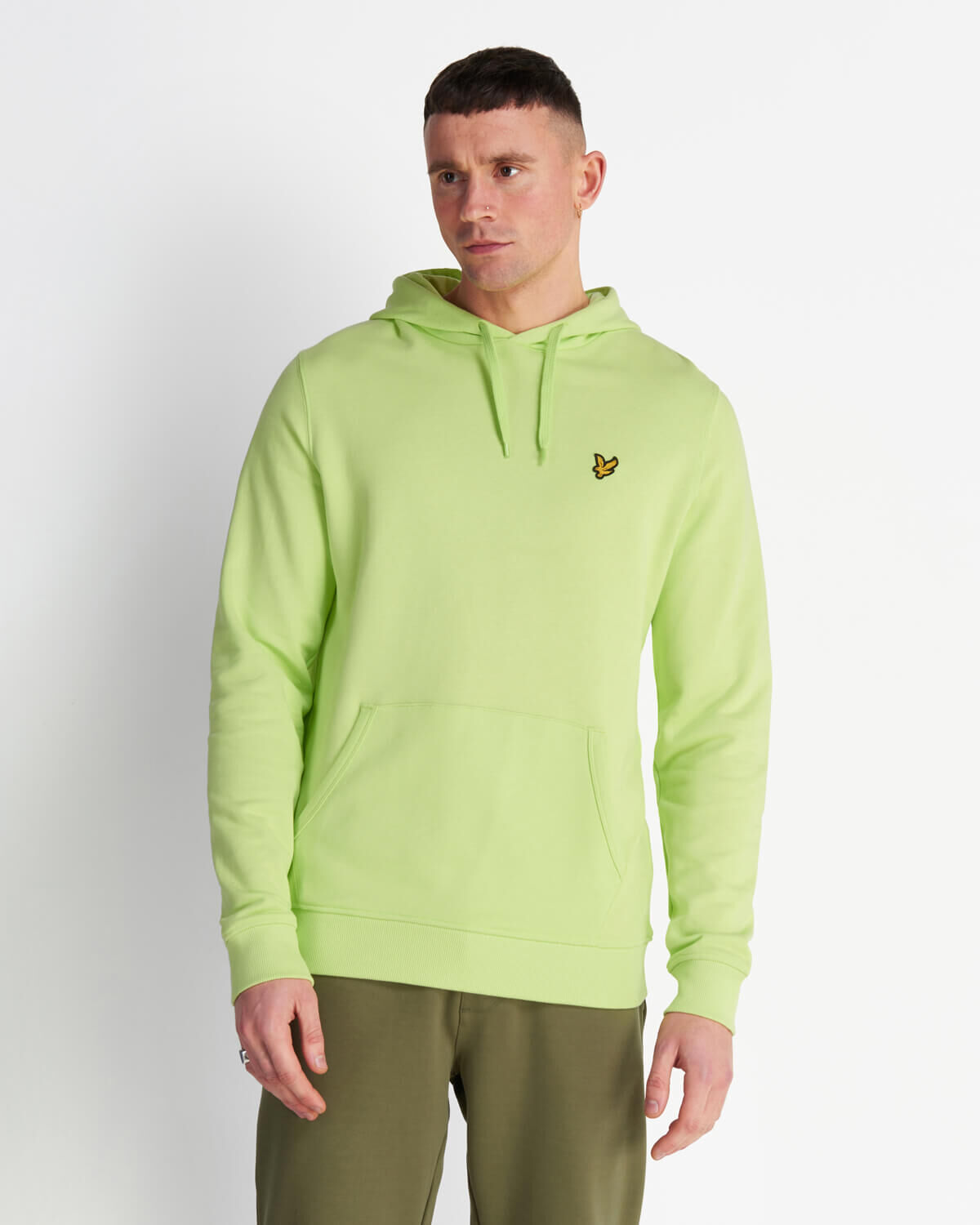 Lyle-and-Scott-Mens-Pullover-Hoodie-Cotton thumbnail 41