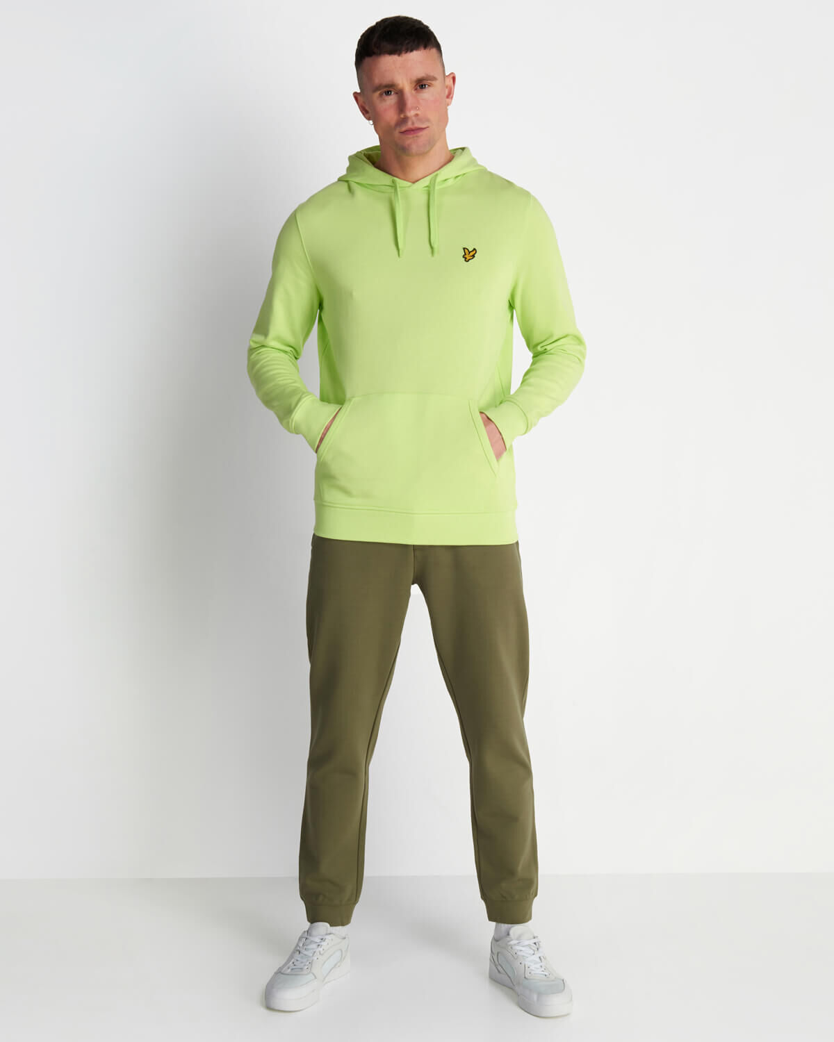 Lyle-and-Scott-Mens-Pullover-Hoodie-Cotton thumbnail 46