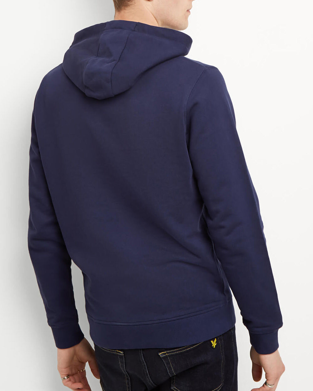 Lyle-and-Scott-Mens-Pullover-Hoodie-Cotton thumbnail 39