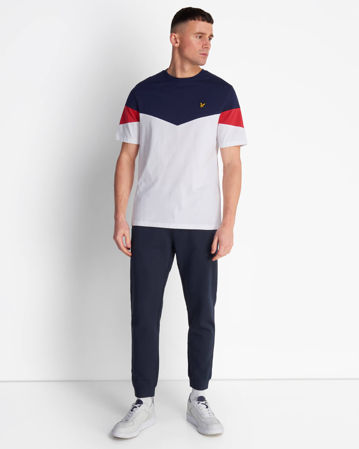 Lyle-and-Scott-Mens-Panel-T-Shirt thumbnail 7