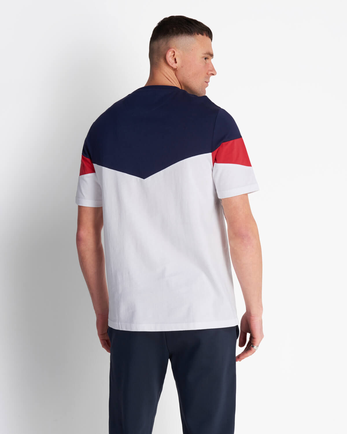 Lyle-and-Scott-Mens-Panel-T-Shirt thumbnail 8