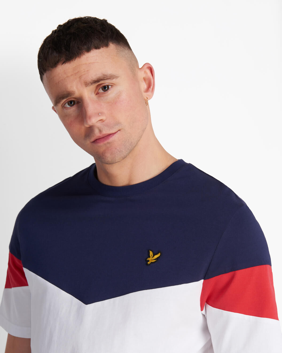 Lyle-and-Scott-Mens-Panel-T-Shirt thumbnail 9