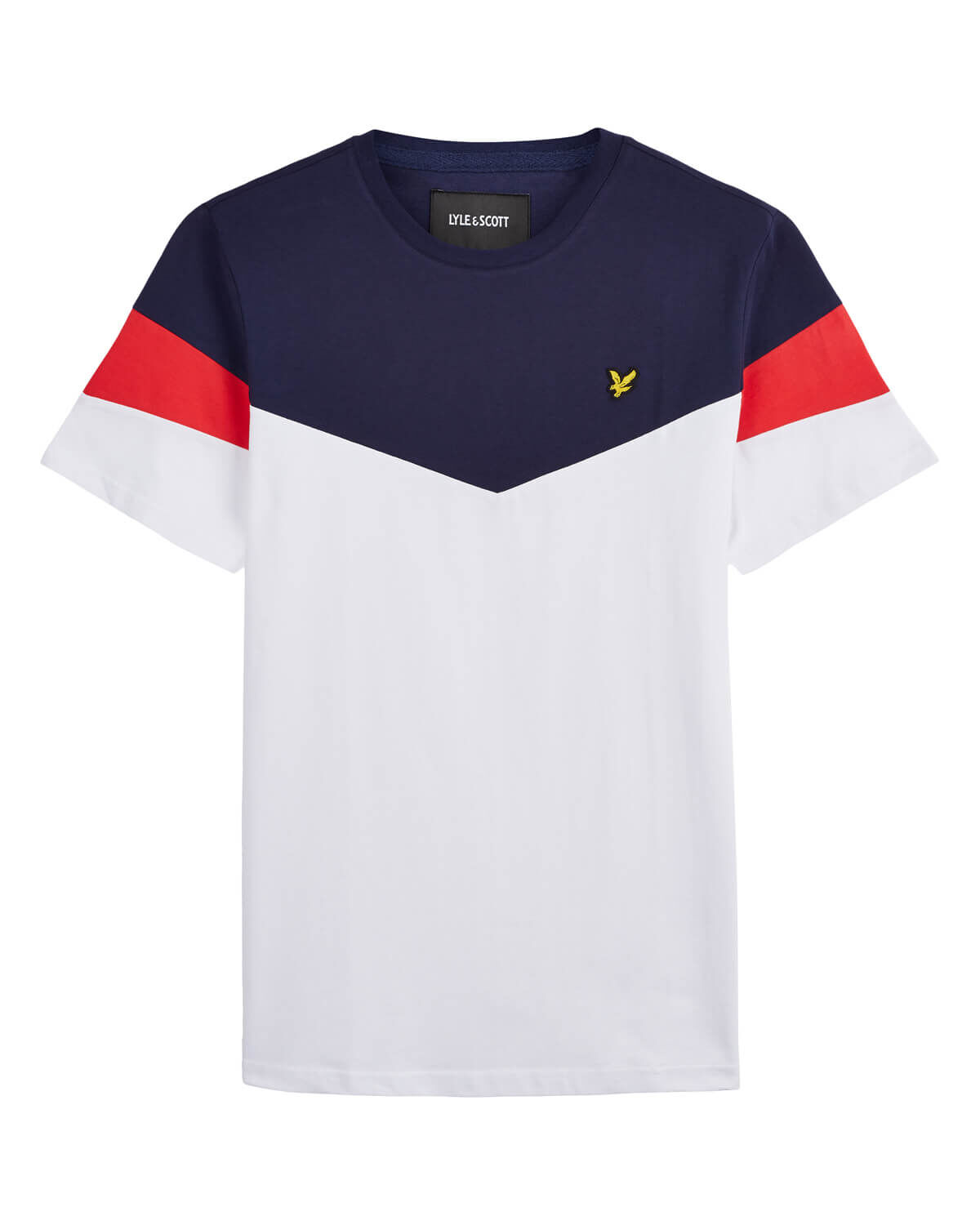 Lyle-and-Scott-Mens-Panel-T-Shirt thumbnail 10