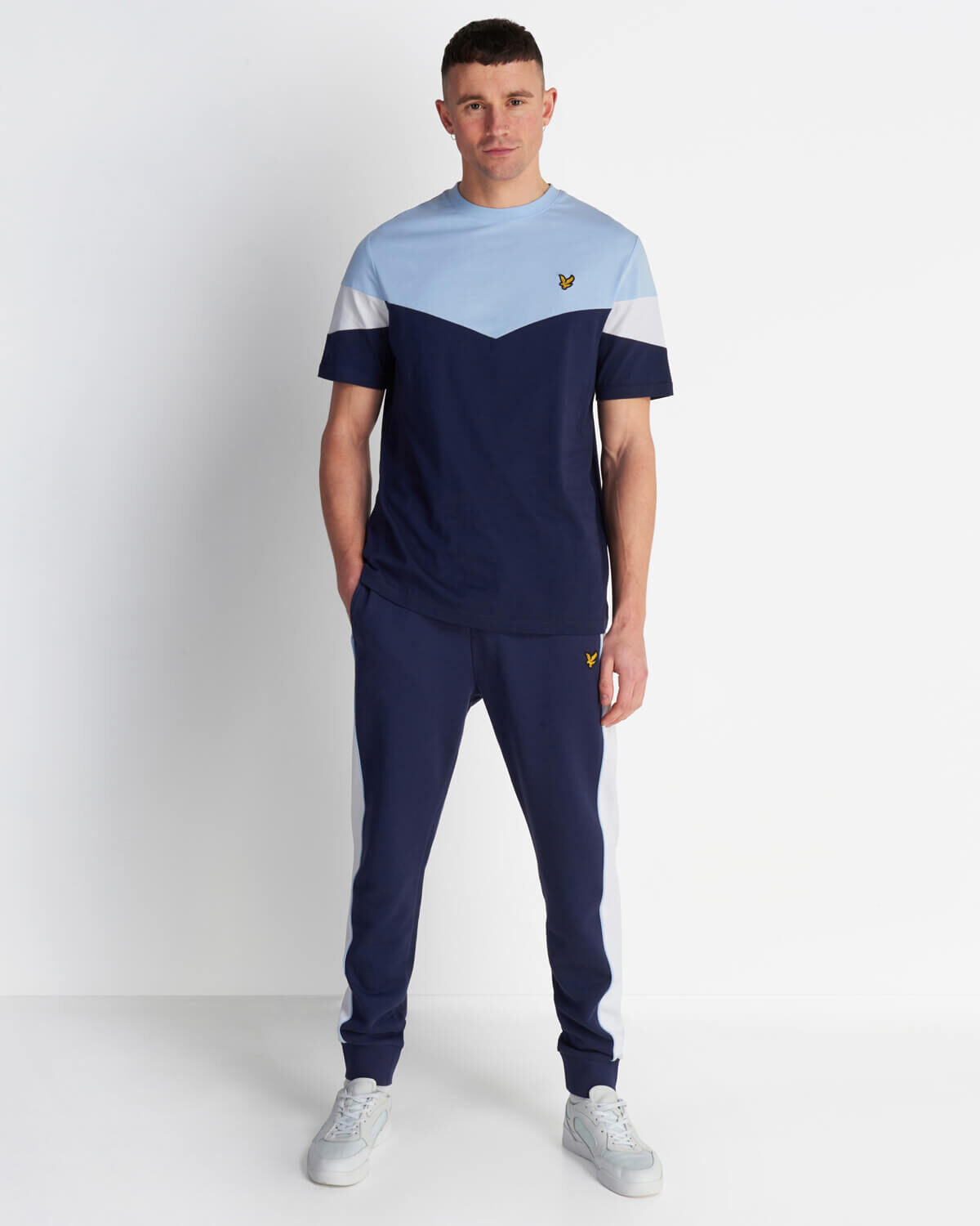 Lyle-and-Scott-Mens-Panel-T-Shirt thumbnail 12