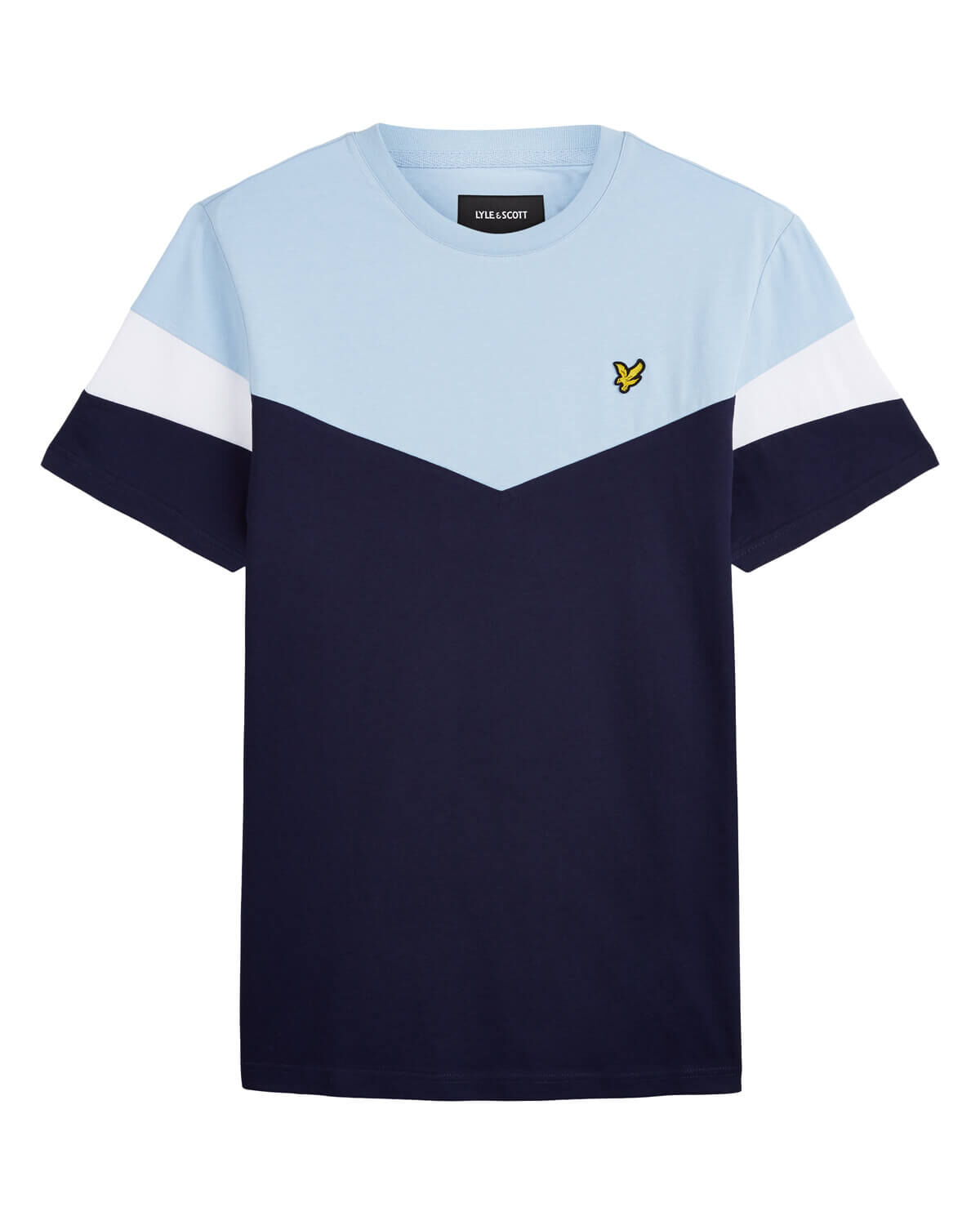 Lyle-and-Scott-Mens-Panel-T-Shirt thumbnail 15