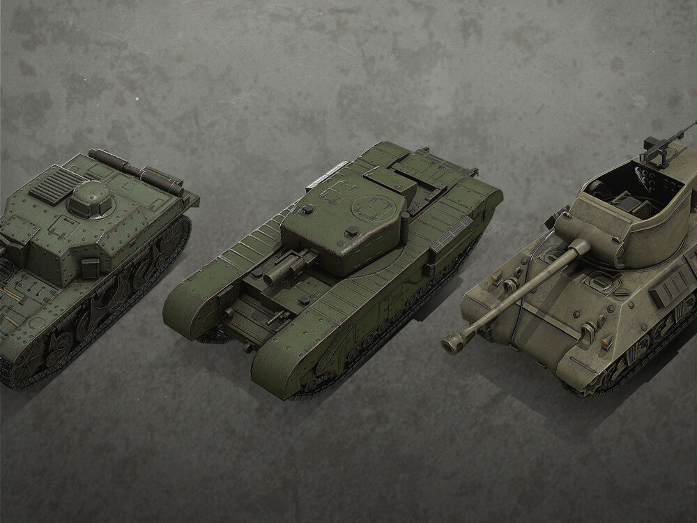 Hearts of Iron IV: Allied Armor Pack фото