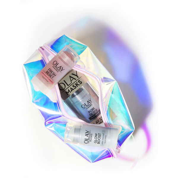 Olay Pore Detox, Fresh Reset, and Glow Boost Multi-Mask Holiday Kit