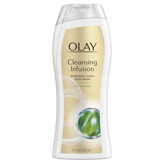 Olay Cleansing Infusion Hydrating Body Wash with Deep Sea Kelp, 22 oz