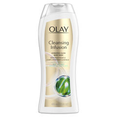 Olay Cleansing Infusion Hydrating Body Wash with Deep Sea Kelp, 13.5 oz