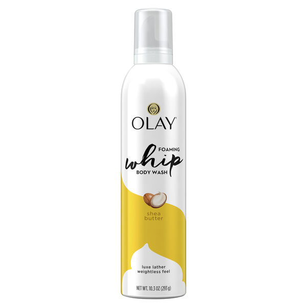 Olay Shea Butter Scent Foaming Whip Body Wash for Women, 10.3 oz