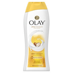 Olay Ultra Moisture Shea Butter Body Wash, 13.5 oz