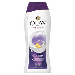 Olay Age Defying with Vitamin E Body Wash, 13.5 oz