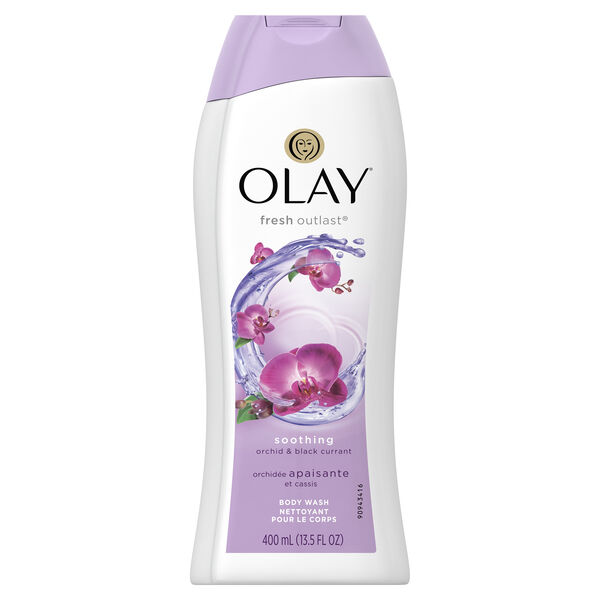 Olay Fresh Outlast Soothing Orchid & Black Currant Body Wash 13.5 oz
