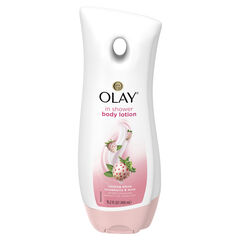 Olay Cooling White Strawberry & Mint In-Shower Body Lotion, 15.2 fl oz