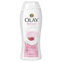 Olay Ultra Moisture Silk Tree Blossom Body Wash, 22 oz