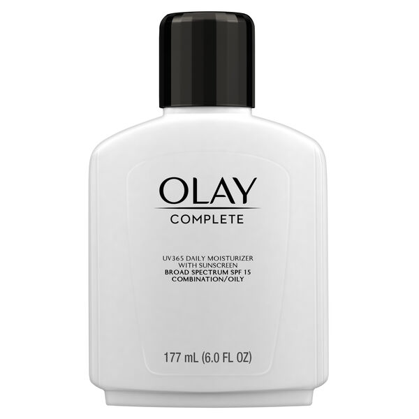 Olay Complete Lotion Moisturizer with SPF 15 Oily, 6.0 fl oz