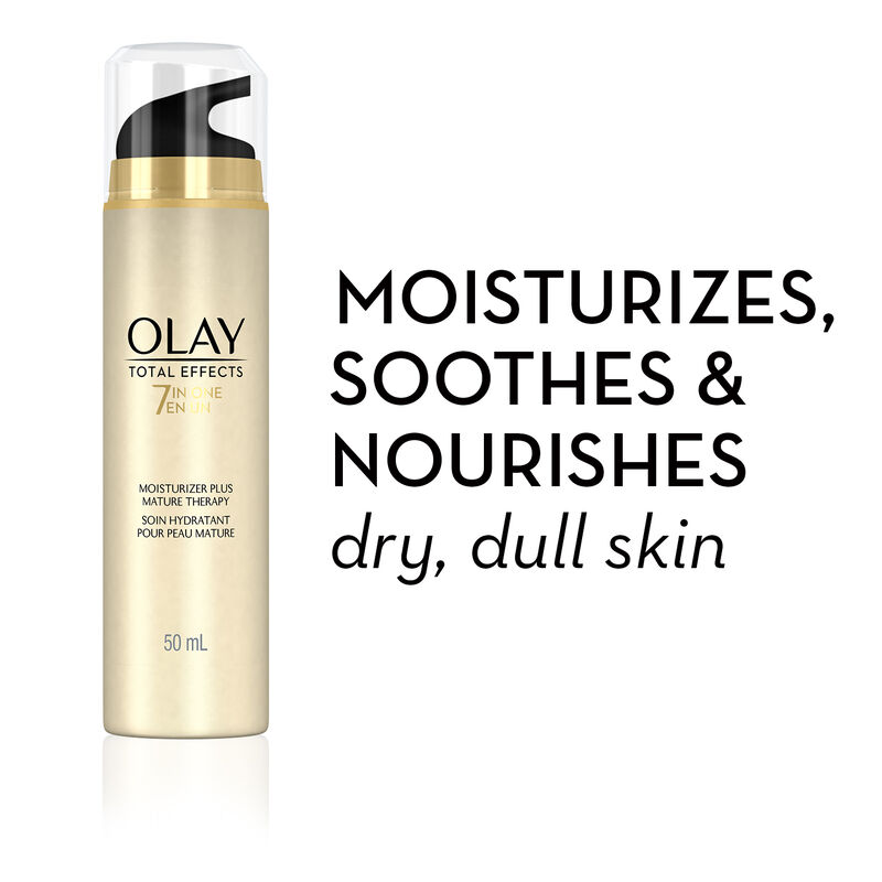 Olay Total Effects 7-in-One Moisturizer Mature Therapy Treatment, 1.7 fl oz