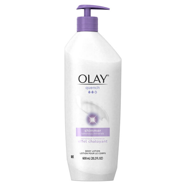 Olay Quench Shimmer Body Lotion, 20.2 fl oz