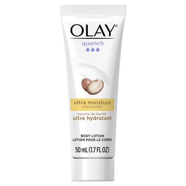 Olay Quench Ultra Moisture Shea Butter Body Lotion, 1.7 fl oz